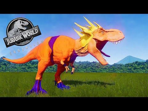 DRAGON BALL Z - GOKU DINOSAUR MOD | JURASSIC DINOSAUR BATTLE || JURASSIC WORLD EVOLUTION |