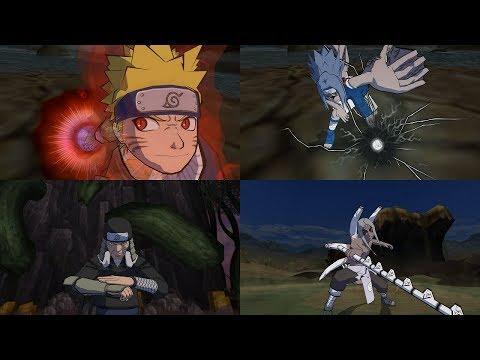 Naruto Gekitou Ninja Taisen 4 - All Ultimate Jutsu Ougi 1080p 60 FPS