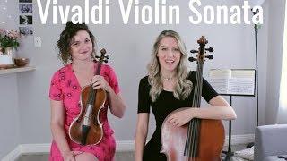Vivaldi - Violin Sonata no. 1 in G minor, RV 27 IV. Corrente on baroque violin, Old Friends Preview