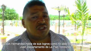 Reportaje desde San Juan La Paz Honduras  (Musica pun pun Punta Los Roland)
