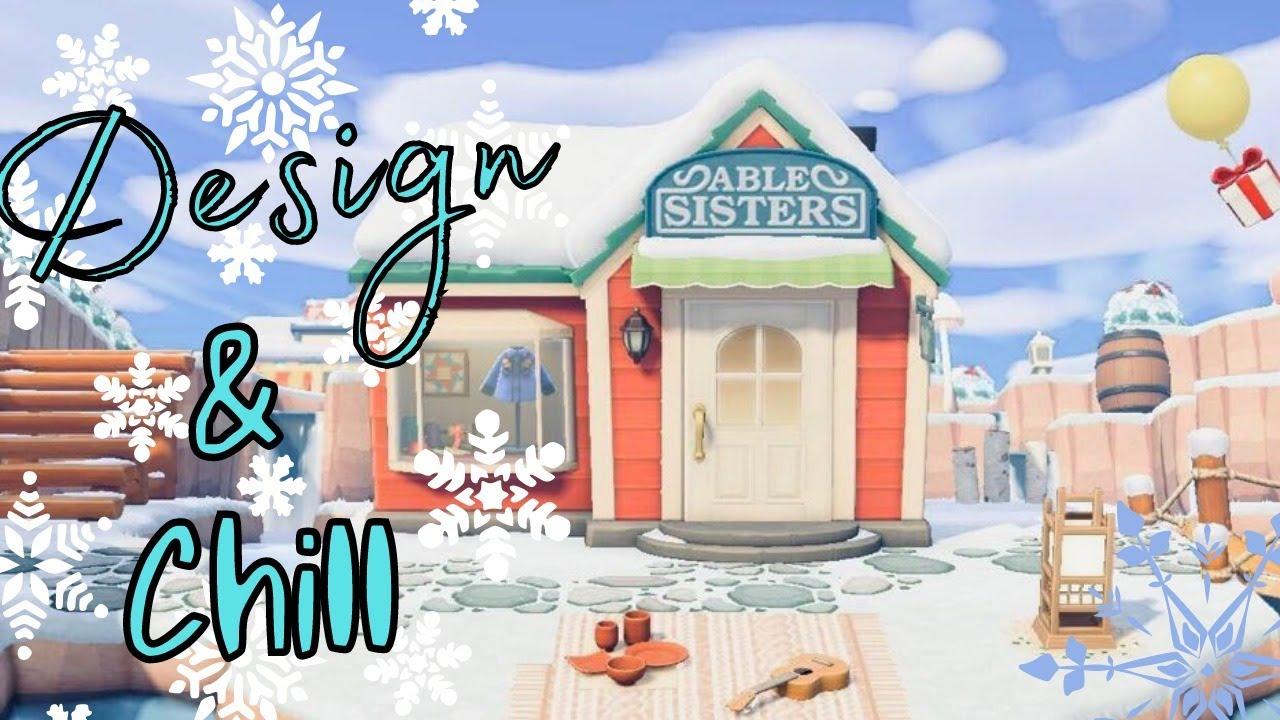 Design & Chill Live Stream | Animal Crossing New Horizons Live Stream 2021
