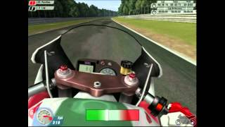 SBK 2001 Gameplay at Hockenheim