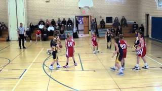 1 18 2014 Peters Township 5th Grade Girls Travel vs Mt  Lebanon Gold   First Quarter