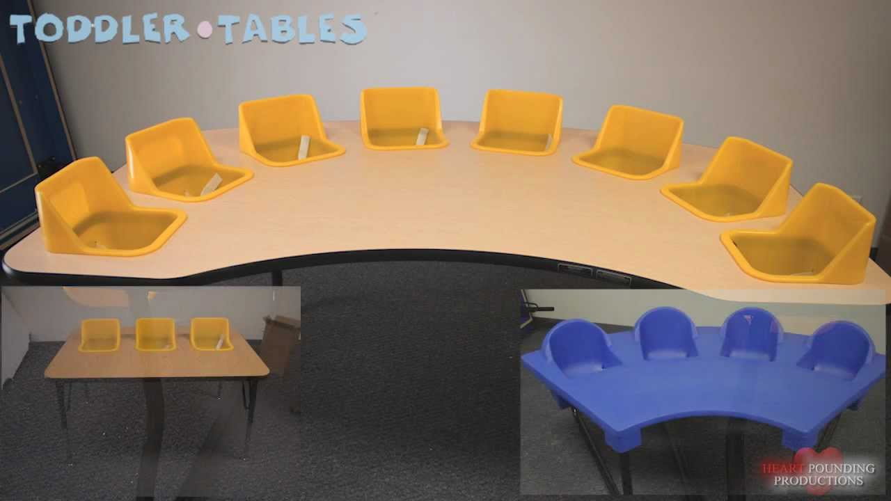Toddler Tables Eight Seat Table Assembly Video Youtube