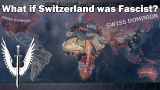 What if Switzerland joined the Axis during WW2? (Hoi4 Timelapse/Speedrun)