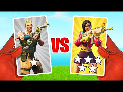 *NEW* MYSTERY Card Gun Game In FORTNITE!