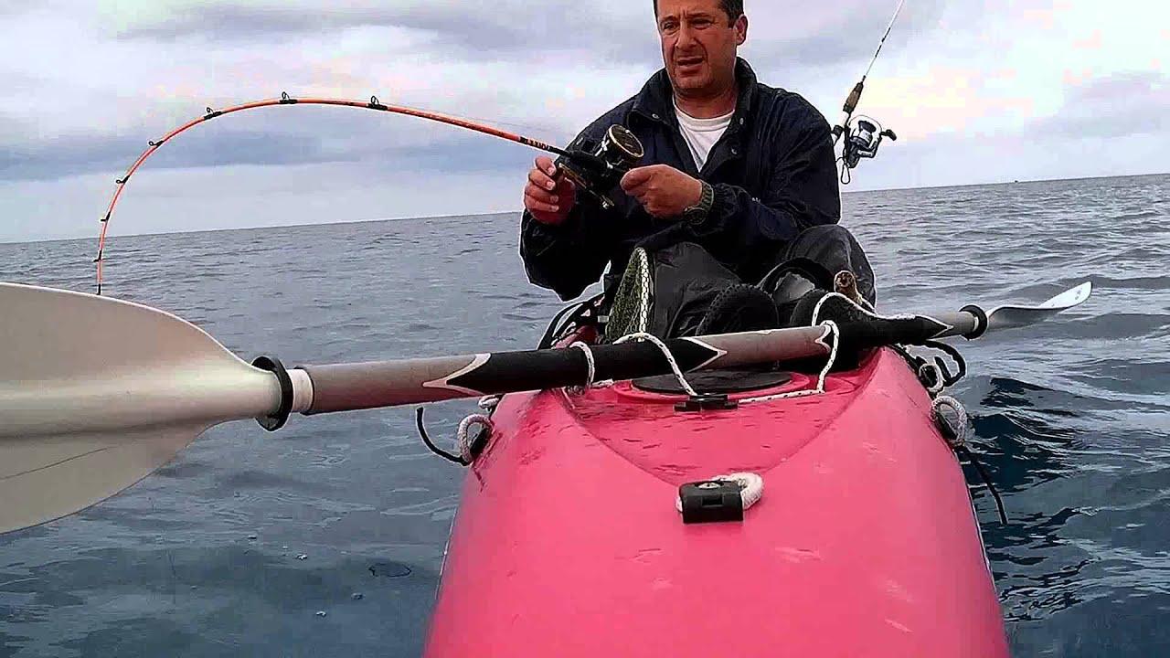 Preveza kayak fishing 2014 youtube for Youtube kayak fishing