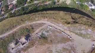 Tel Yokneam Aerial View 3 (BibleWalks.com)