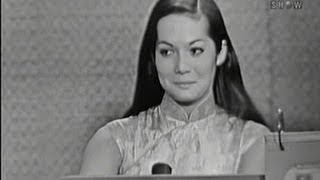 What's My Line? - Nancy Kwan; Lord Robert Boothby [panel] (Dec 4, 1960)