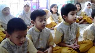 Kids reciting Surah Taha verses 1-5