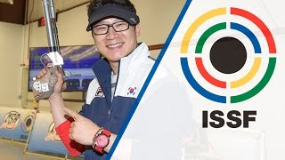 Finals 10m Air Pistol Men - 2015 ISSF Rifle and Pistol World Cup in Fort Benning (USA)