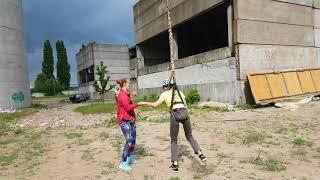 Роупджампинг Одесса Прыжок 101 м , 13.05.18