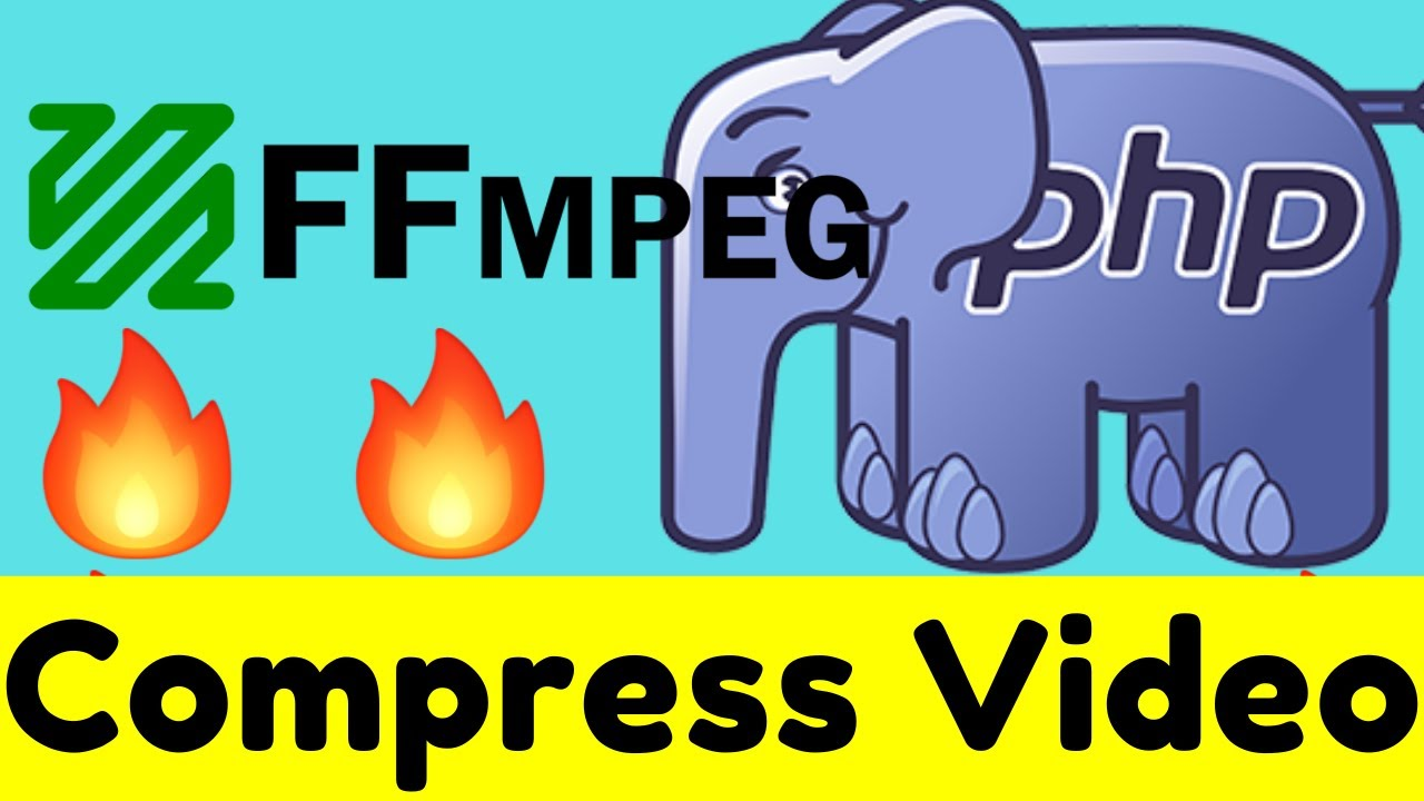 How to Compress Video Bitrate and Resolution in PHP Using FFMPEG Library Full Project