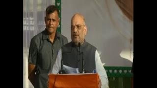 Shri Amit Shah addresses a public meeting, Brahman Sabha, Parade, Jammu