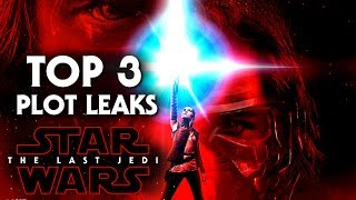 Top 3 Mysterious Plot Leaks In Star Wars The Last Jedi