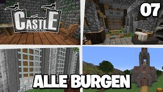 ALLE BURGEN in... 🏰 Minecraft CASTLE #07 | Clym