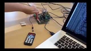 Home Alarm DIY Project programmed in Reactive Blocks