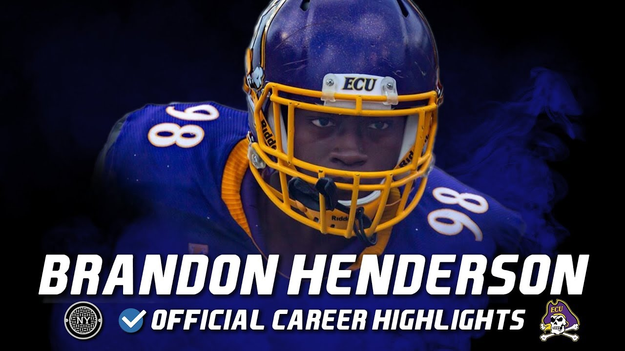 Brandon Henderson Official East Carolina/New York Streets Highlights ᴴᴰ