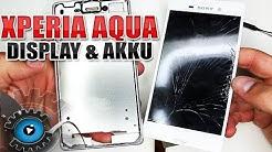 Sony Xperia M4 Aqua Display & Akku Wechseln Tauschen Reparieren [Deutsch/German]