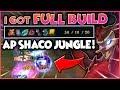I GOT FULL BUILD AP SHACO JUNGLE!