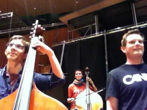 YouTube Symphony 2011 Double Basses