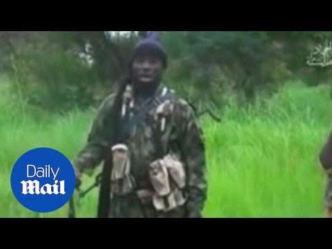 Download Video 'shows Boko Haram's leader Abubakar Shekau' - Daily Mail