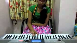 telugu song konte chooputho from ananthapuram movie on keyboard by t.sahithi