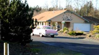 for sale classic pink 1957 olds 98