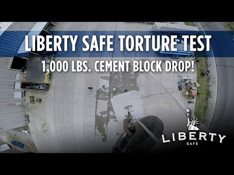 1,000 Pound Cement Block Drop