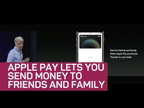 Apple Pay person to person (CNET News)