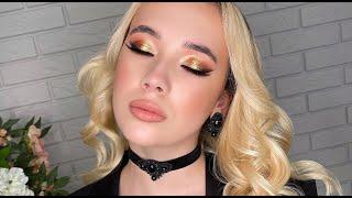 Новогодний макияж 2021 Вечерний макияж с растушёванной стрелкой New Year s makeup 2021