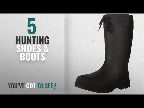 2d1e8a807cd Top 10 Hunting Shoes & Boots [2018]: Kamik Men's Hunter Insulated ...