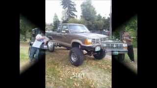 Lifted Ford Ranger SAS