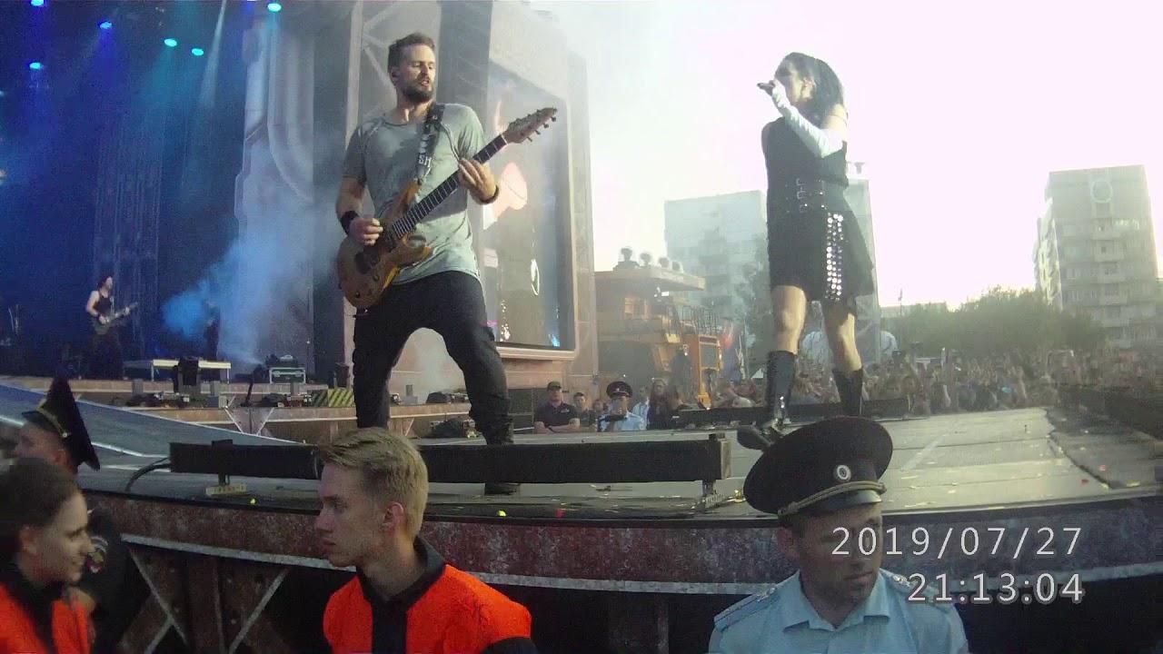 Winthin Temptation - Stand my ground Герои Мирового Рока 2019 в Кемерово