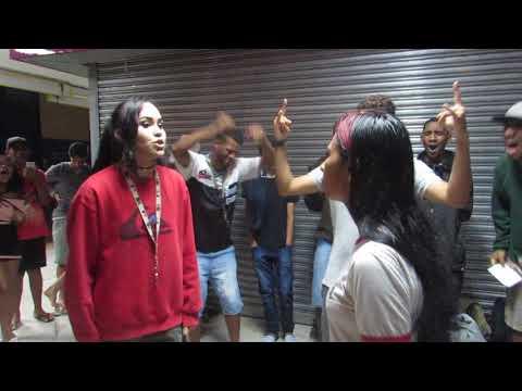 Batalha de rap- Aline vs Anne (primeira fase) PESADÍSSIMA