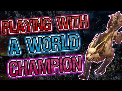 PLAYING WITH A VAINGLORY WORLD CHAMPION AGGRESSIVE FORTRESS JUNGLE - VAINGLORY 5V5 GAMEPLAY