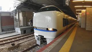 ②大阪駅サンダーバード15号683系発車した左側には!