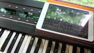 Ensoniq ESQ-1 Synthesizer editor Patch Base for iPad