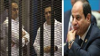 ٤ أسباب دفعت السيسي لإلقاء القبض على علاء وجمال مبارك