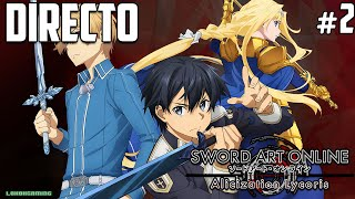 Vídeo Sword Art Online: Alicization Lycoris