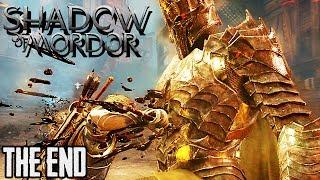 Mittelerde Mordors Schatten Gameplay German ENDE - Sauron Boss Fight