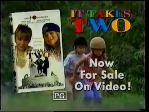 It Takes Two VHS Commercial 1996