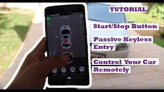 Control your Car with your Phone - Smart Start/Stop Button Tutorial
