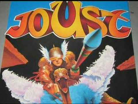 Classic Game Room - JOUST For Atari 7800 Review