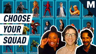 Joseph Gordon-Levitt And The 'Project Power' Cast Choose Their Superhero Squad | Choose Your Squad