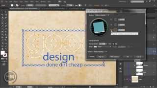 11_03 Group of 3D type - Illustrator cc تعلم