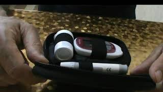 Qanda şəkərin şəkər ölçən cihazla (qlukometr) yoxlamaq qayadası