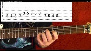 In the Flesh - The Wall by PINK FLOYD - Guitar Lesson