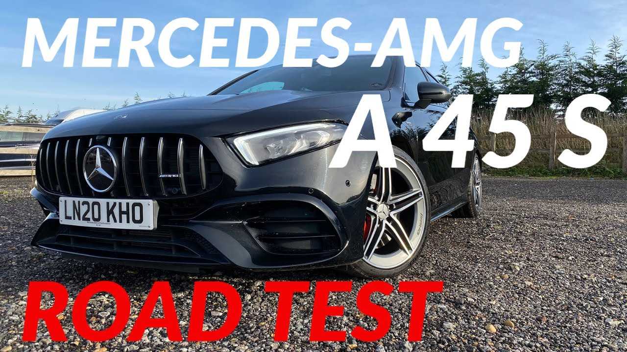 Download Mercedes-AMG A 45 S road review   Driving the hottest hot hatch of 2020