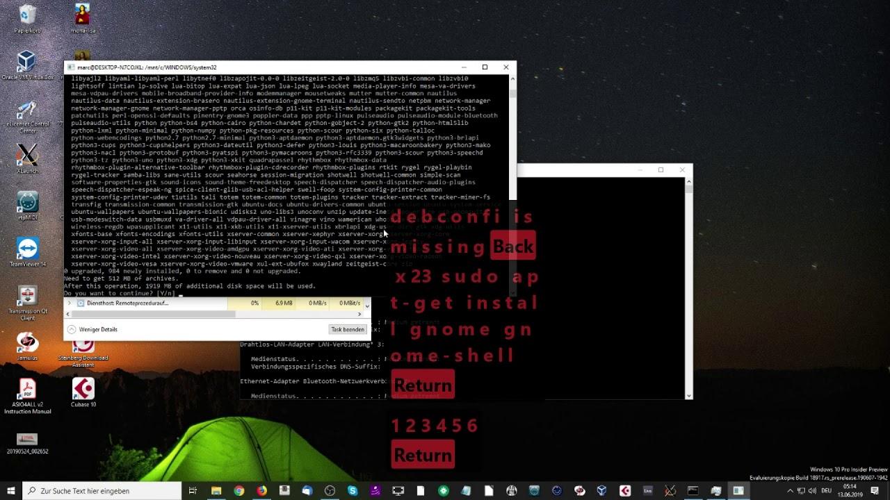 Ubuntu or Kali Linux with GUI on Windows wsl/wsl2